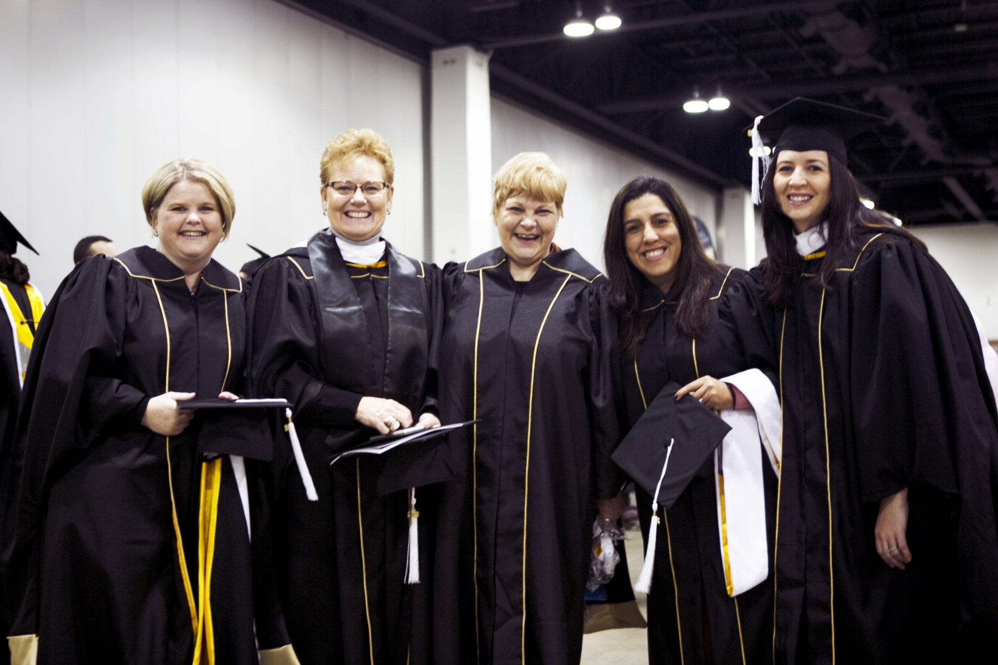 Buell Cohort at fall commencement 2018