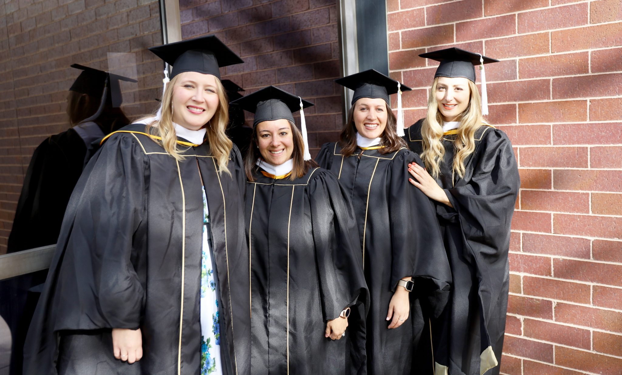 image of four sehd graduate students