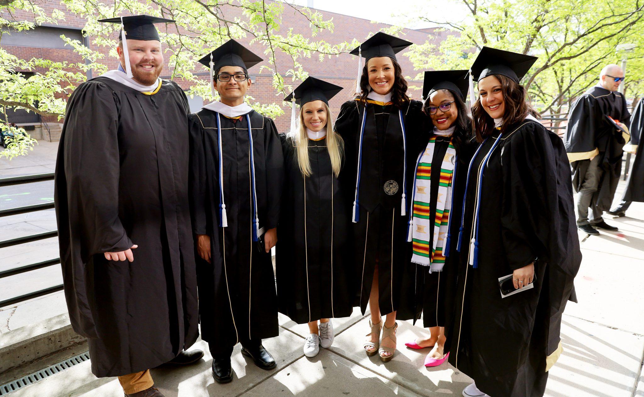 image of six sehd graduate students