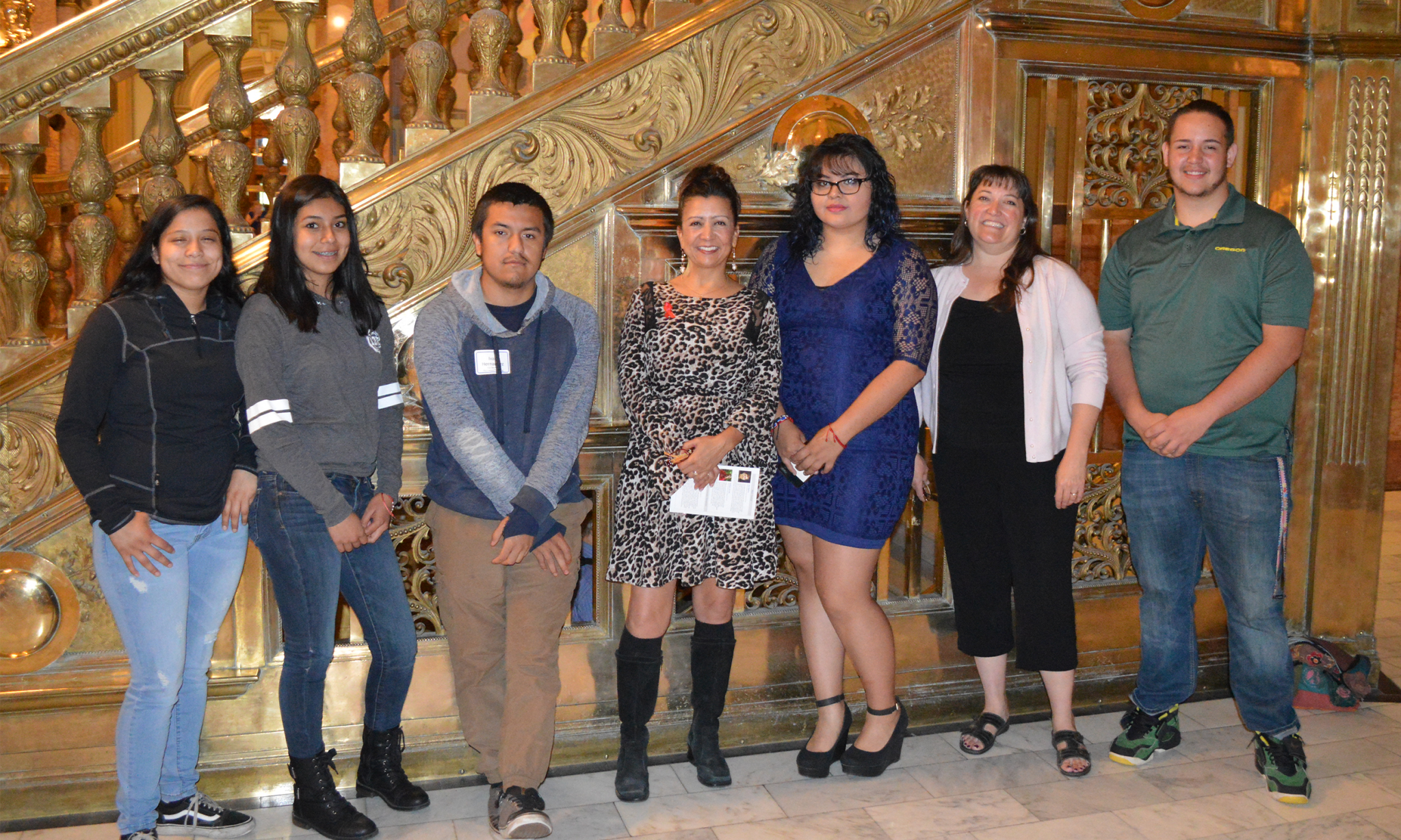 Students in CU Denver Education Programs Receive Awards at State Capitol