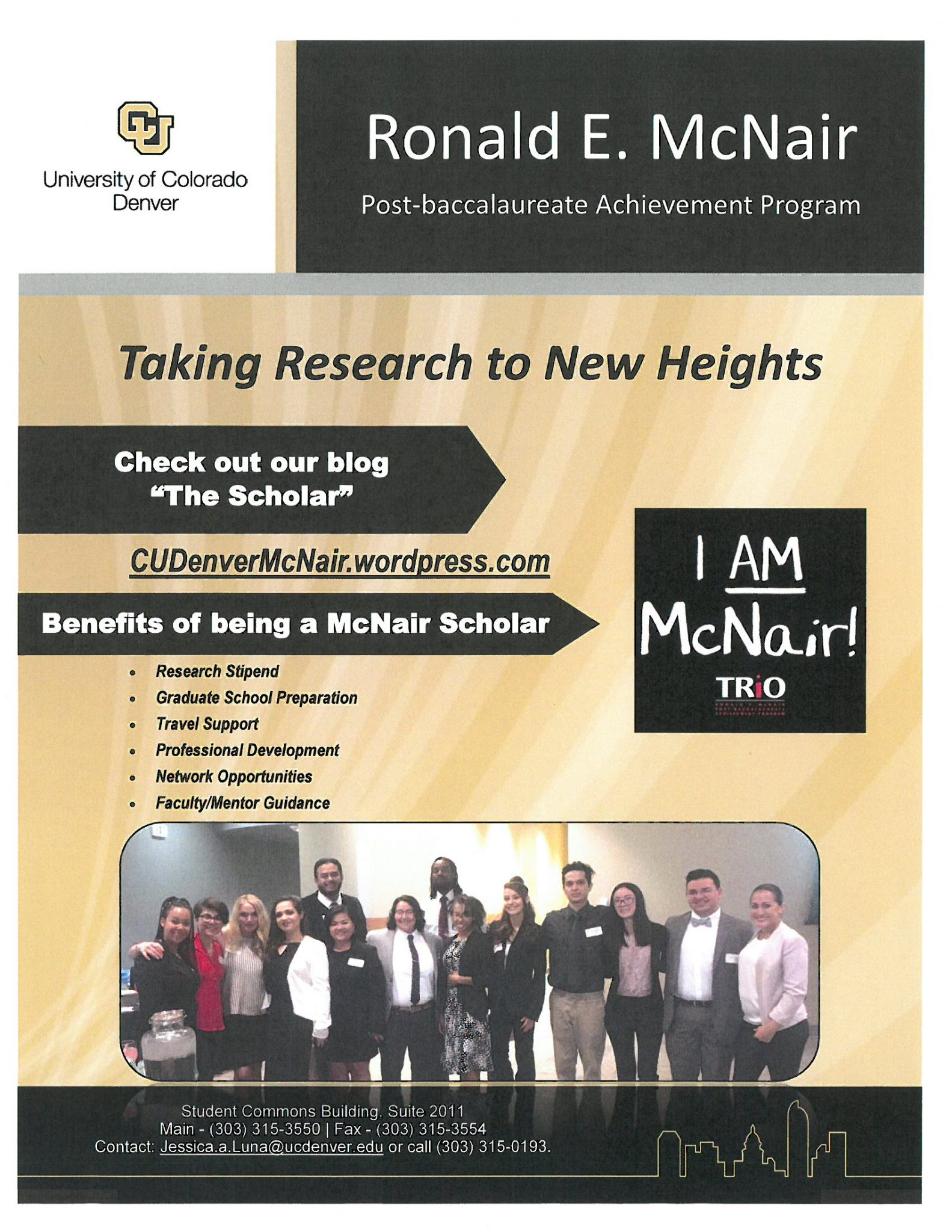Ronald E. McNair flyer